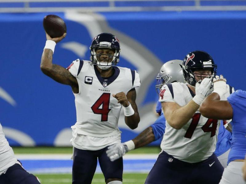 Energized Texans feast on Detroit Lions on Thanksgiving Day