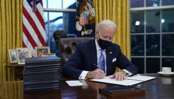 On Day One, Biden targets Trump policies on climate, virus