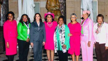VP Kamala Harris celebrated by AKAs, Alphas and the rest of Blackworld
