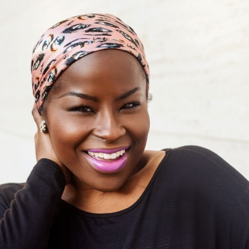 LAMIK Beauty's Kim Roxie, semi-finalist in Next Wave Impact's Founders of Color showcase