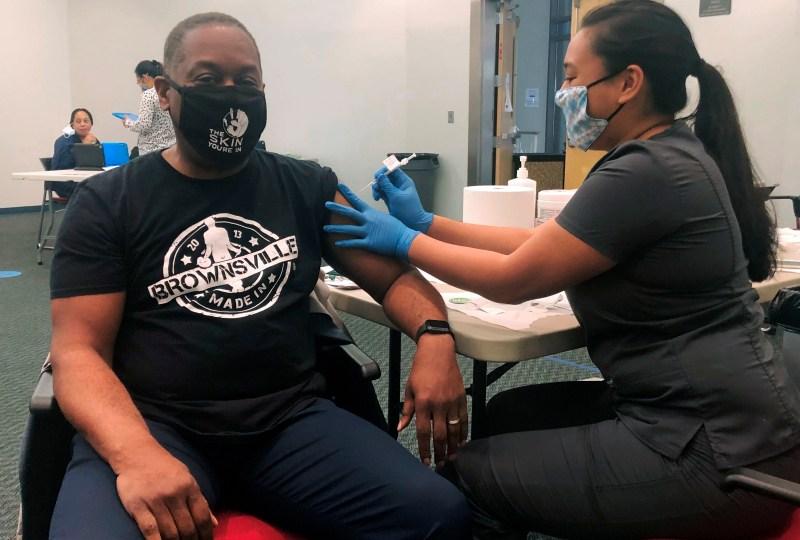 Racial disparity seen in U.S. vaccination drive