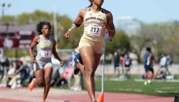 Summer Creek sprinter Dynasty McClennon is golden