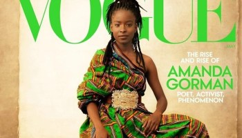 Amanda Gorman graces cover of Vogue's May issue