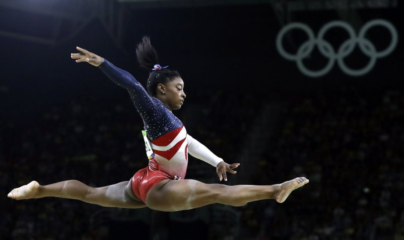 Simone Biles drops Nike, joins female-focused athletic company Athleta team
