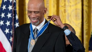 NBA's new Kareem Abdul-Jabbar Social Justice Champion Award honors player activism