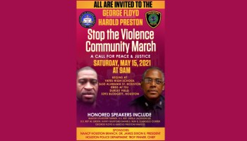 NAACP, HPD lead George Floyd/Harold Preston 'Stop the Violence March' Sat., May 15