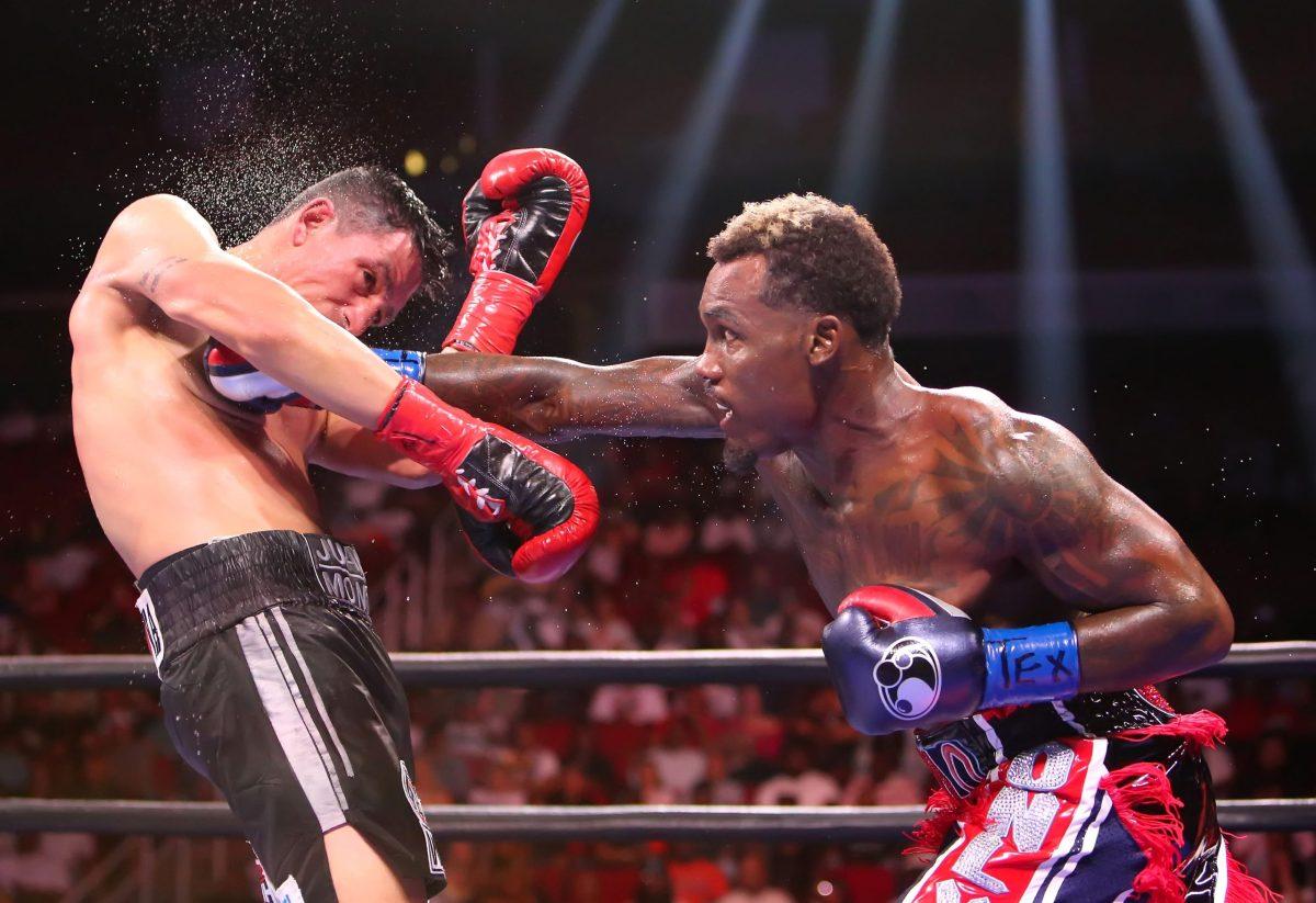 Photo Gallery: Jermall Charlo wins latest bout, shares champion wisdom