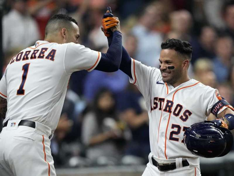 Astros' Carlos Correa and Jose Altuve pull out of MLB All-Star Game
