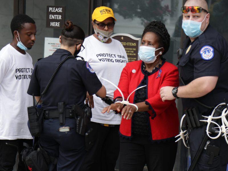 Cong. Sheila Jackson Lee talks D.C. arrest, push for federal voting laws