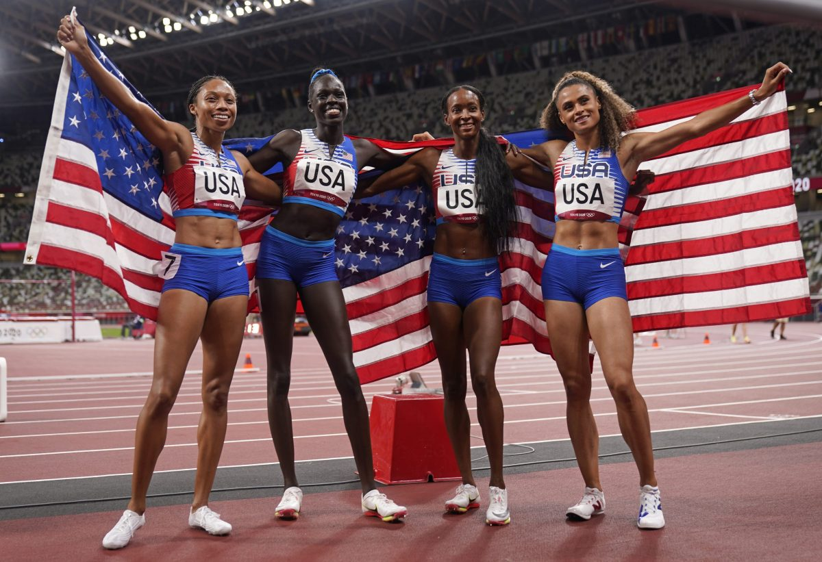 Black women send powerful message in Olympic track and field