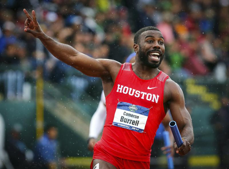 US track star Cameron Burrell, son of Olympian parents, dead at 26