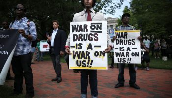 50-year war on drugs all-out war on Black America, millions imprisoned