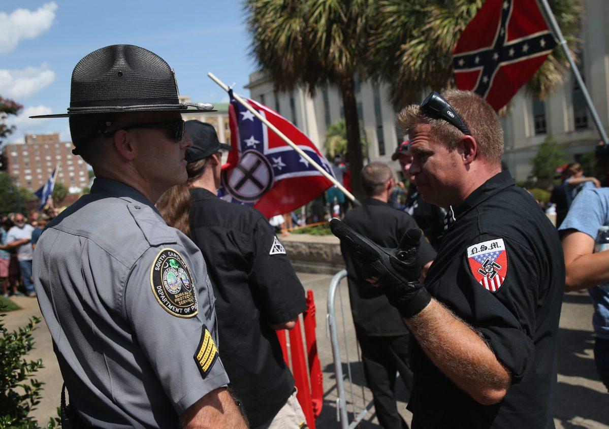 White supremacists, police collaborate in murder plot