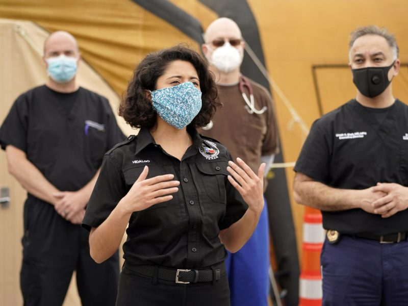 Harris County at COVID-19 threat level 'Red,' hospitals face strain from Delta