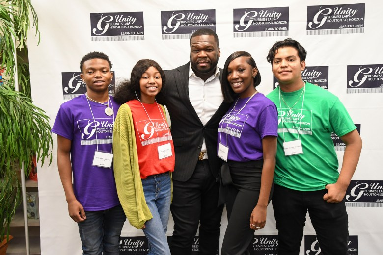 50 Cent launches after-school business program 'G-Unity' in HISD
