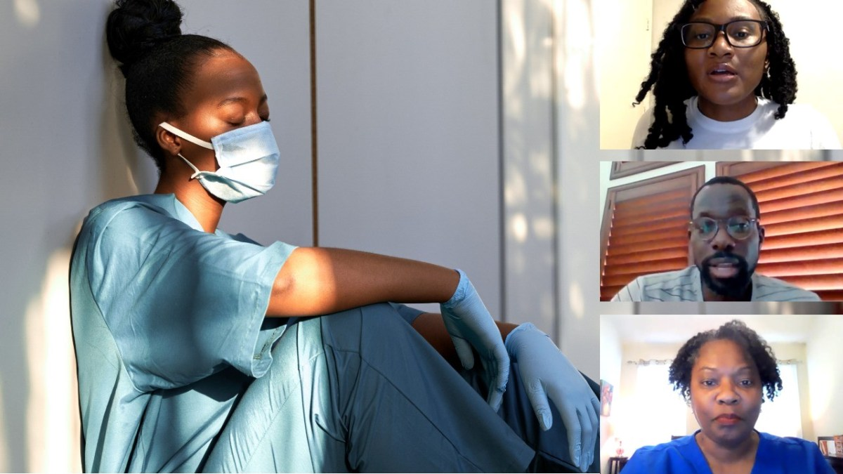 VIDEOS: Black nurses share insights, experiences during fourth COVID surge