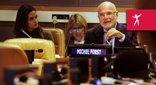 Michel Forst - UN Special Rapporteur on the situation of human rights defenders