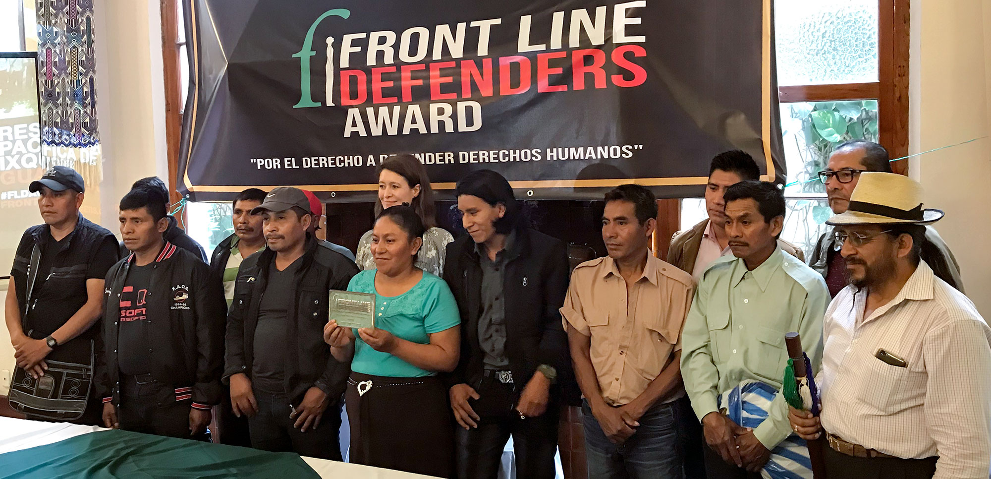 Front Line press conference