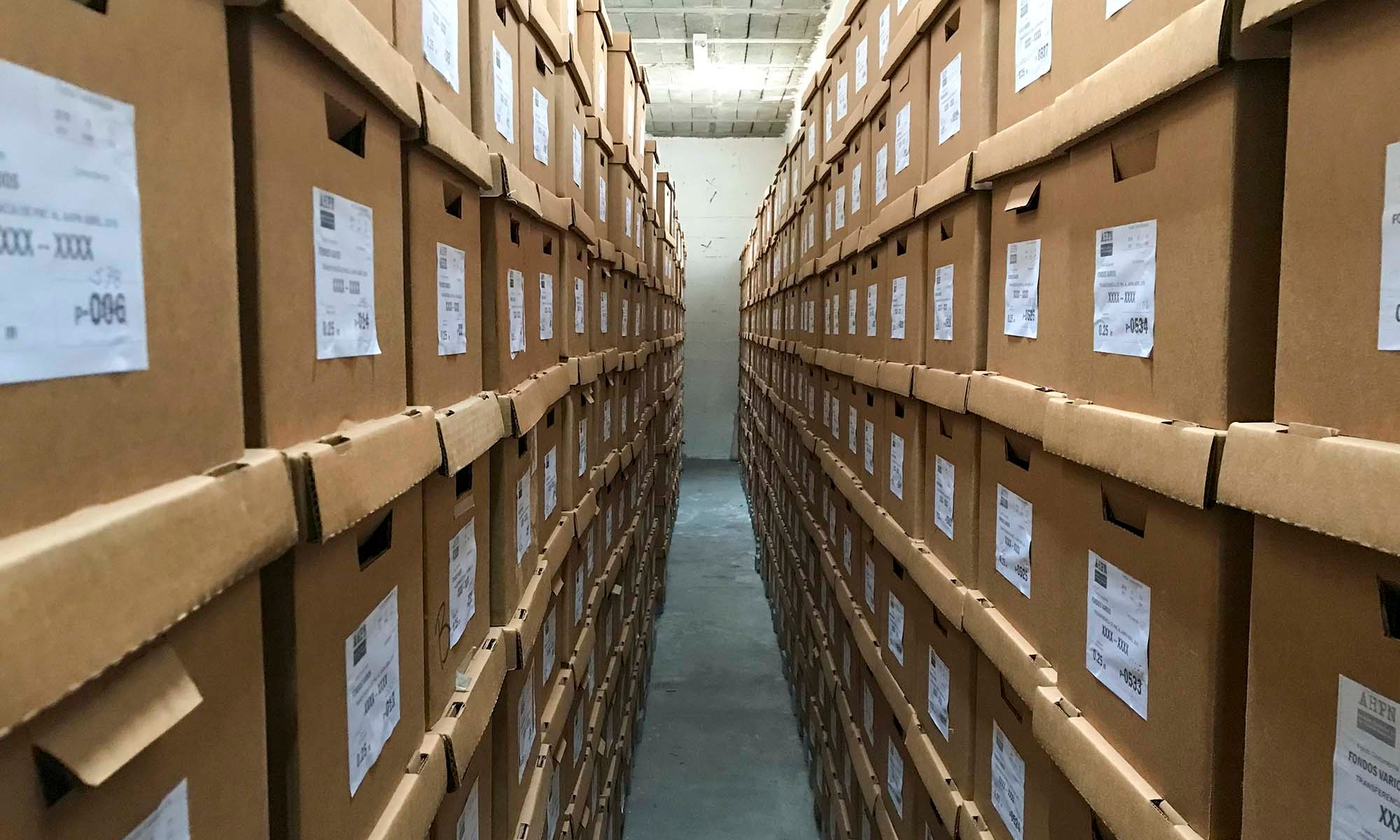 Boxes at the AHPN