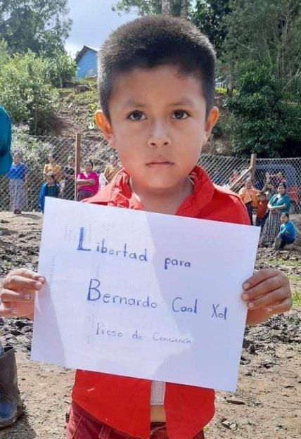 Libertad para Bernardo Caal Xol - Preso de Conciencia