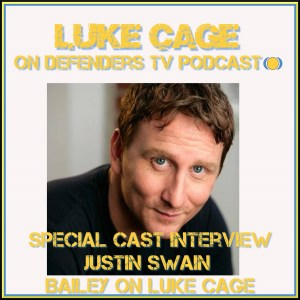 Luke Cage Interview Justin Swain