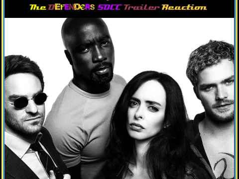 Defenders SDCC Trailer Reaction