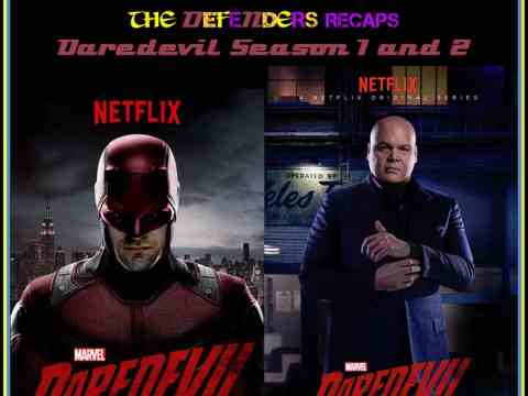 Daredevil Season One and Two Recap Podcast