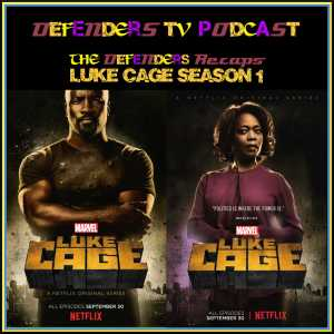 Luke Cage Season One Recap podcast