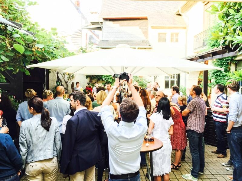 hell of a party in Oestrich-Winkel