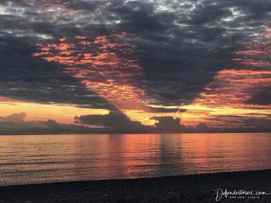 Livadhi Beach Sunset