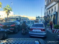 traffic jam in Agadir