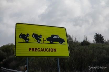 auf dem Weg nach Malaga