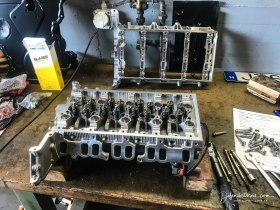 Mike's new cylinder head