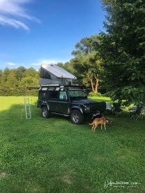 Campsite in Burgfled