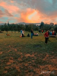Sunset in Breb