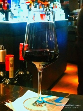 First decent red wine before departure