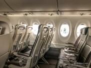 empty flight back to Heraklion