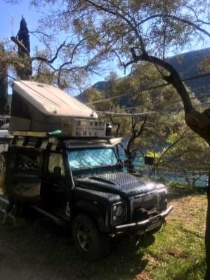 Our spot on Lefkada