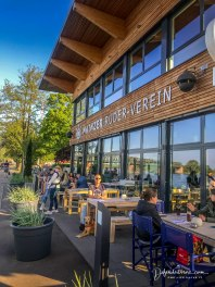 Great restaurant on the rhine river