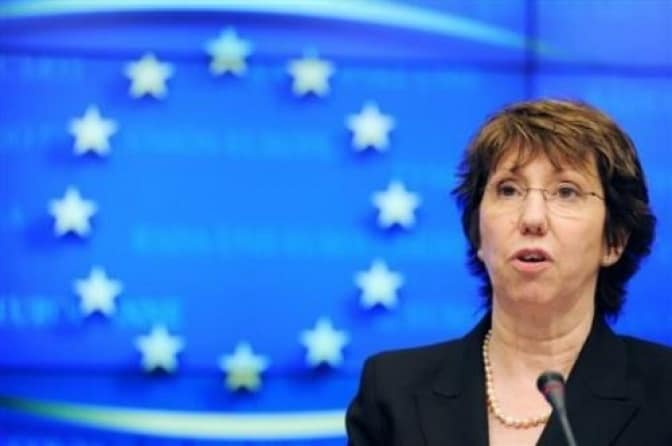 Catherine Ashton, EU rep leading the attack against Israel