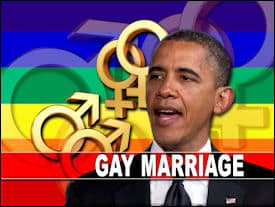 "The ""Gay Marriage"" President"