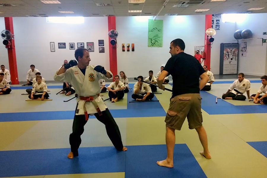 Yawara-Jitsu > Adaptado (Defensa personal para discapacitados)