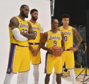 Lakers media day