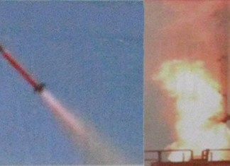 Barak 8 first test launch