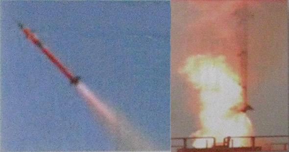 Barak 8 first test launch