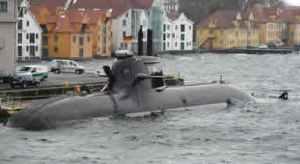 U-212 class submarine at Bremen, 2007