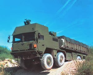 armored truck MAN