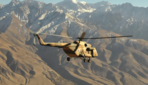 The Afghan Air Force will receive all 21 Russian Mi-17 by summer 2012