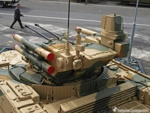 BMP-T was displayed at Eurpsatory 2012. A new version is expected to debut at RAE 2013. Photo: Tamir Eshel, Defense-Update