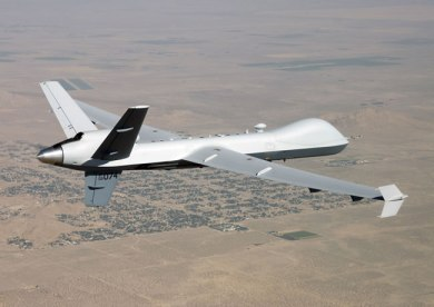MQ-9 Block 1-plus on its first flight on May 24, 2012
